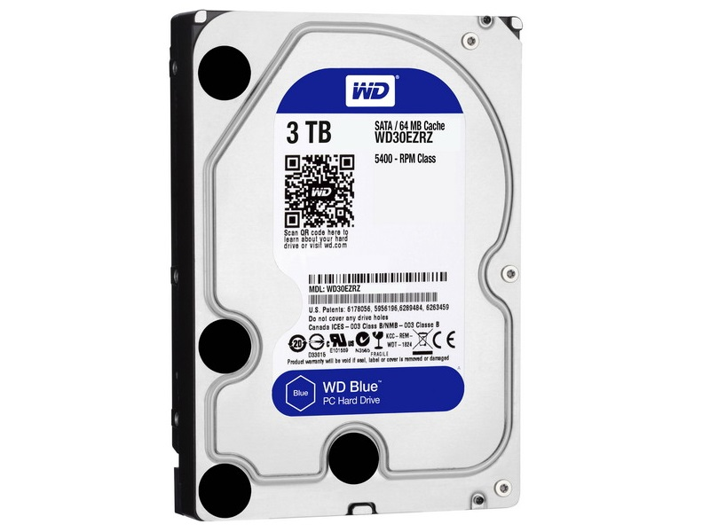 HDD 3TB WD Blue 3.5