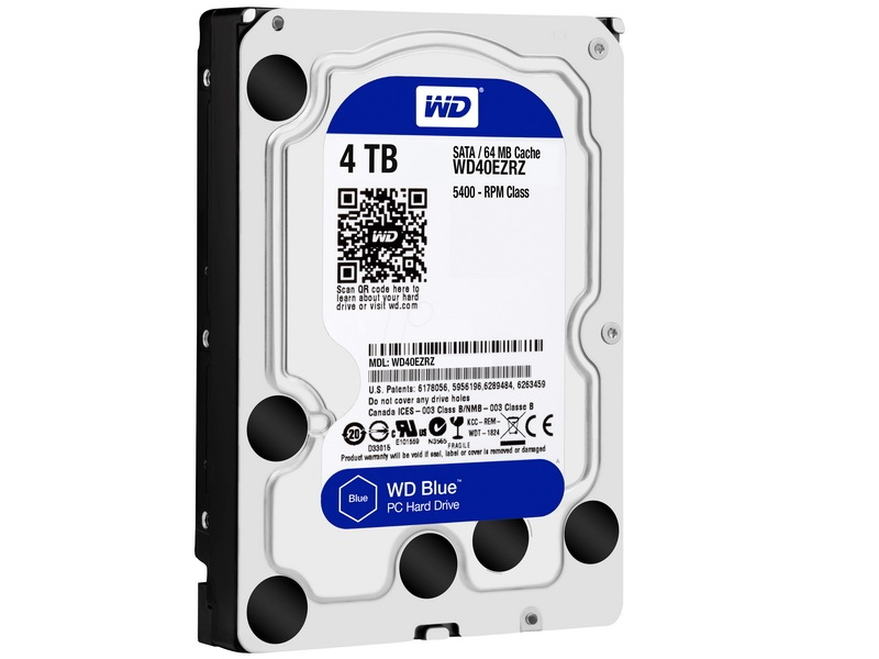 HDD 4TB WD Blue 3.5