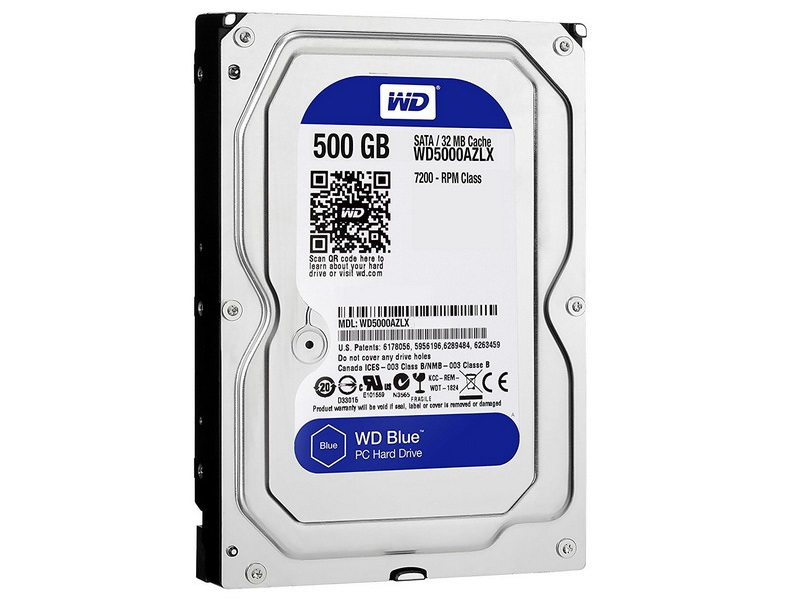 HDD 500GB WD Blue 3.5