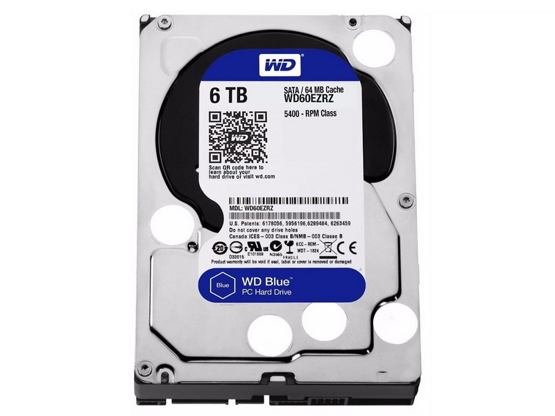 HDD 6TB WD Blue 3.5
