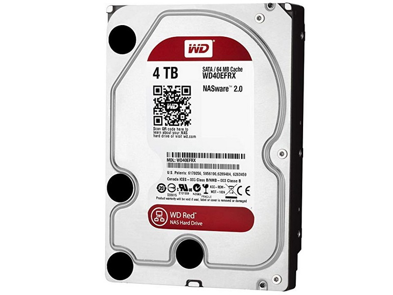 HDD 4TB WD Red 3.5
