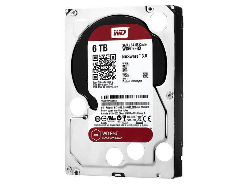 HDD 6TB WD Red 3.5