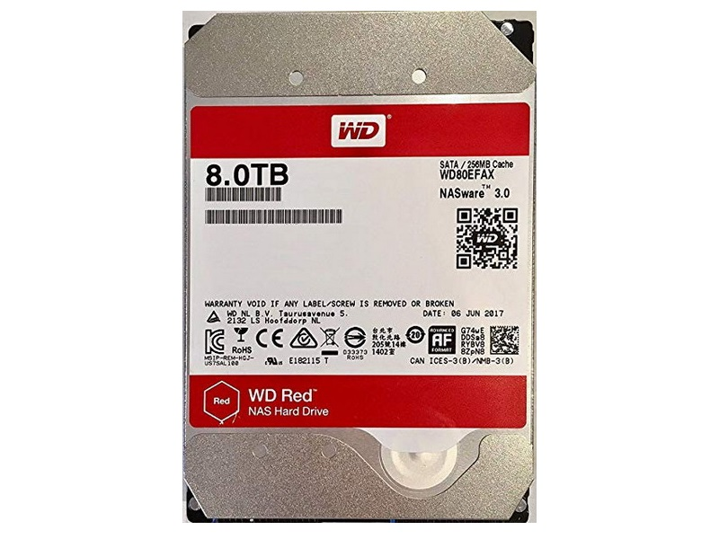 HDD 8TB WD Red 3.5