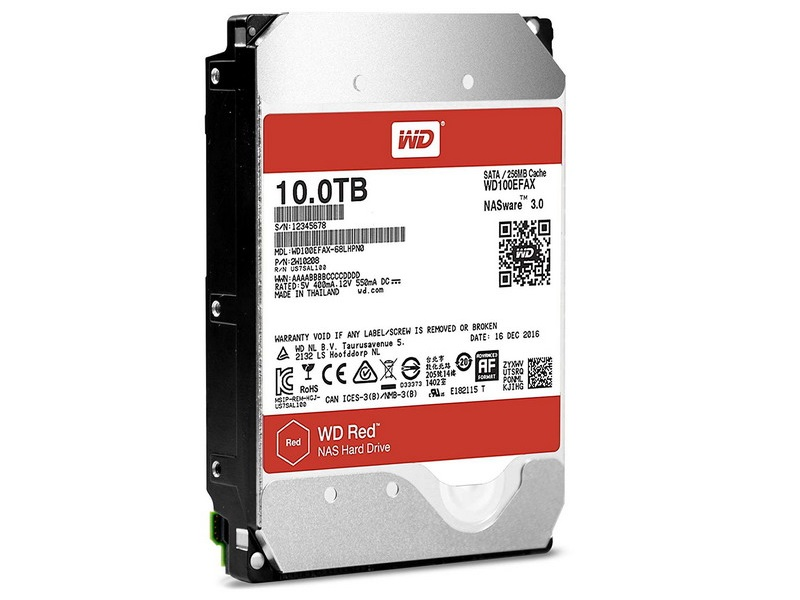 HDD 10TB WD Red 3.5